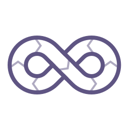 Icon: An infinity symbol with arrows 						showing the direction of flow.